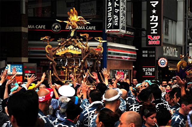 Kichijoji Aki Matsuri, Musashino Hachiman-gu Shrine and others, Musashino, Tokyo
