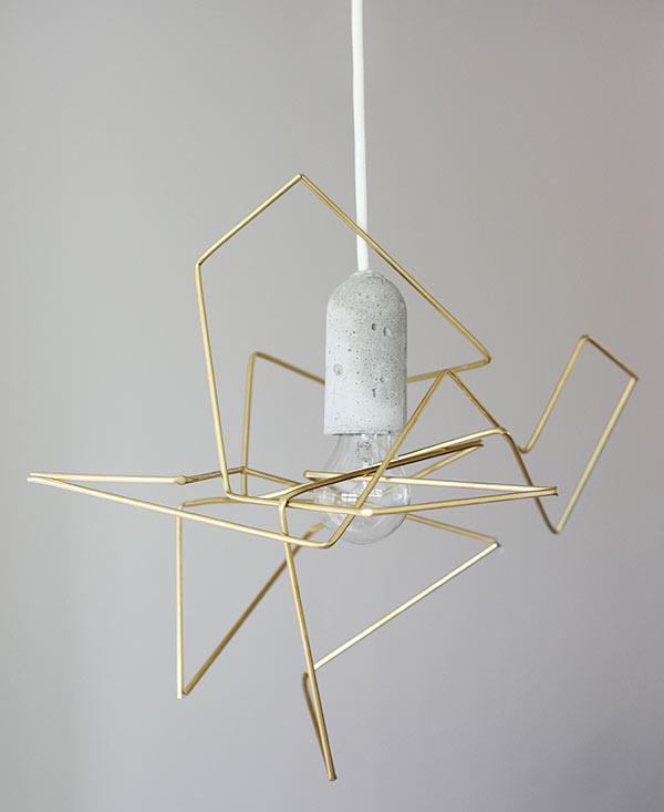 DIY Geometric Light