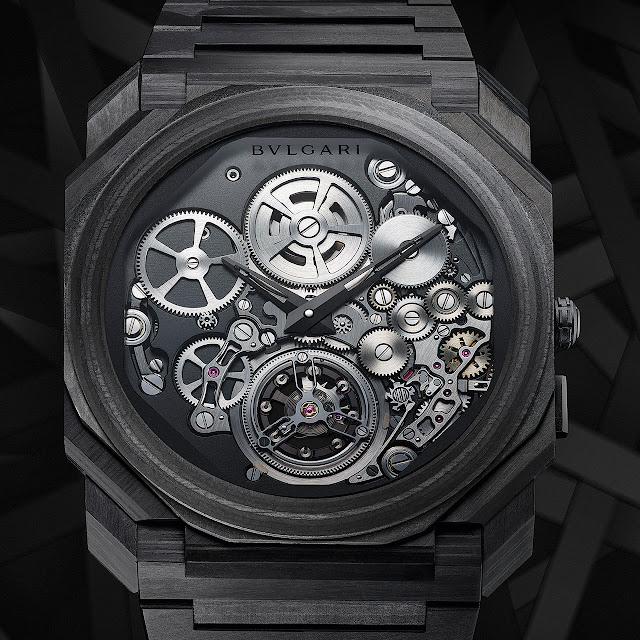 Bulgari Octo Finissimo Tourbillon Carbon Mechanical Watch