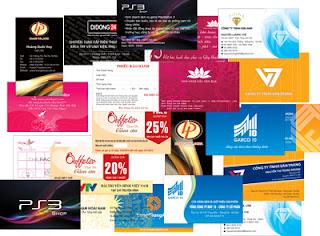 Thiết kế và in card visit giá rẻ Hà Nội