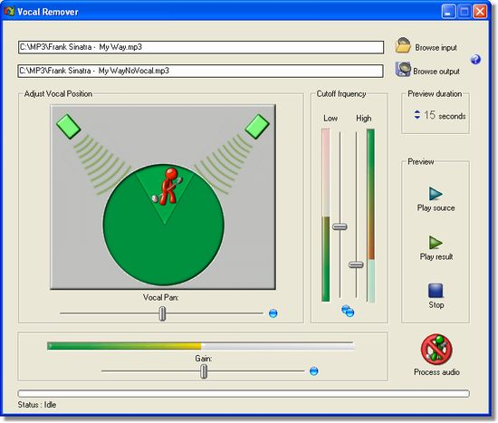 Karaoke software to remove vocals free download