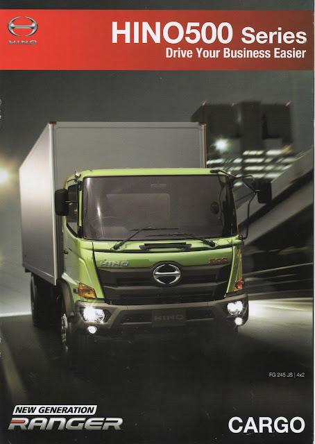 brosur truk hino ranger cargo fg 235 jk