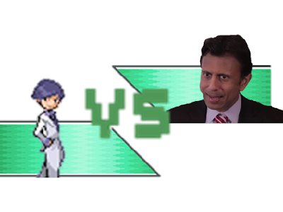 The Wonderful 1237 VS Bobby Jindal versus endorsement minigame splash screen