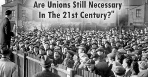 are unions still relevant in usa essay The growth of labor unions in the transition of the united states from a (there are documents that suggest industrialization in the south was still taking.