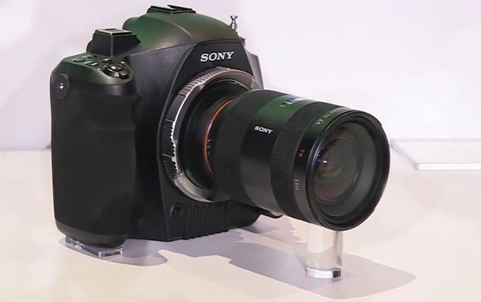 Прототип фотоаппарата Sony