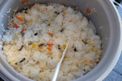 生坂村のハチクの筍すしの素、筍ご飯の素が大人気