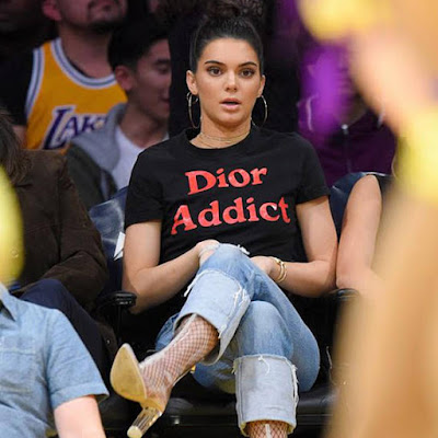Dior Addict T-Shirt Kendall Jenner