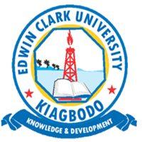 Edwin Clark University Undergraduate Admission Form 2019
