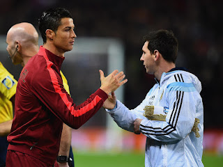 Cristiano Ronaldo and Lionel Messi Great Friends 2016