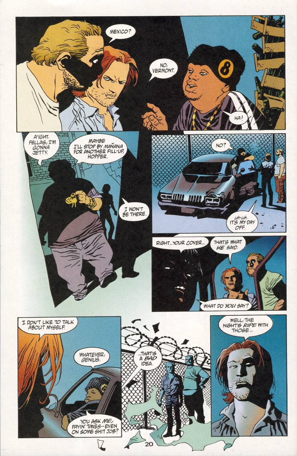 Read online 100 Bullets comic -  Issue #28 - 22