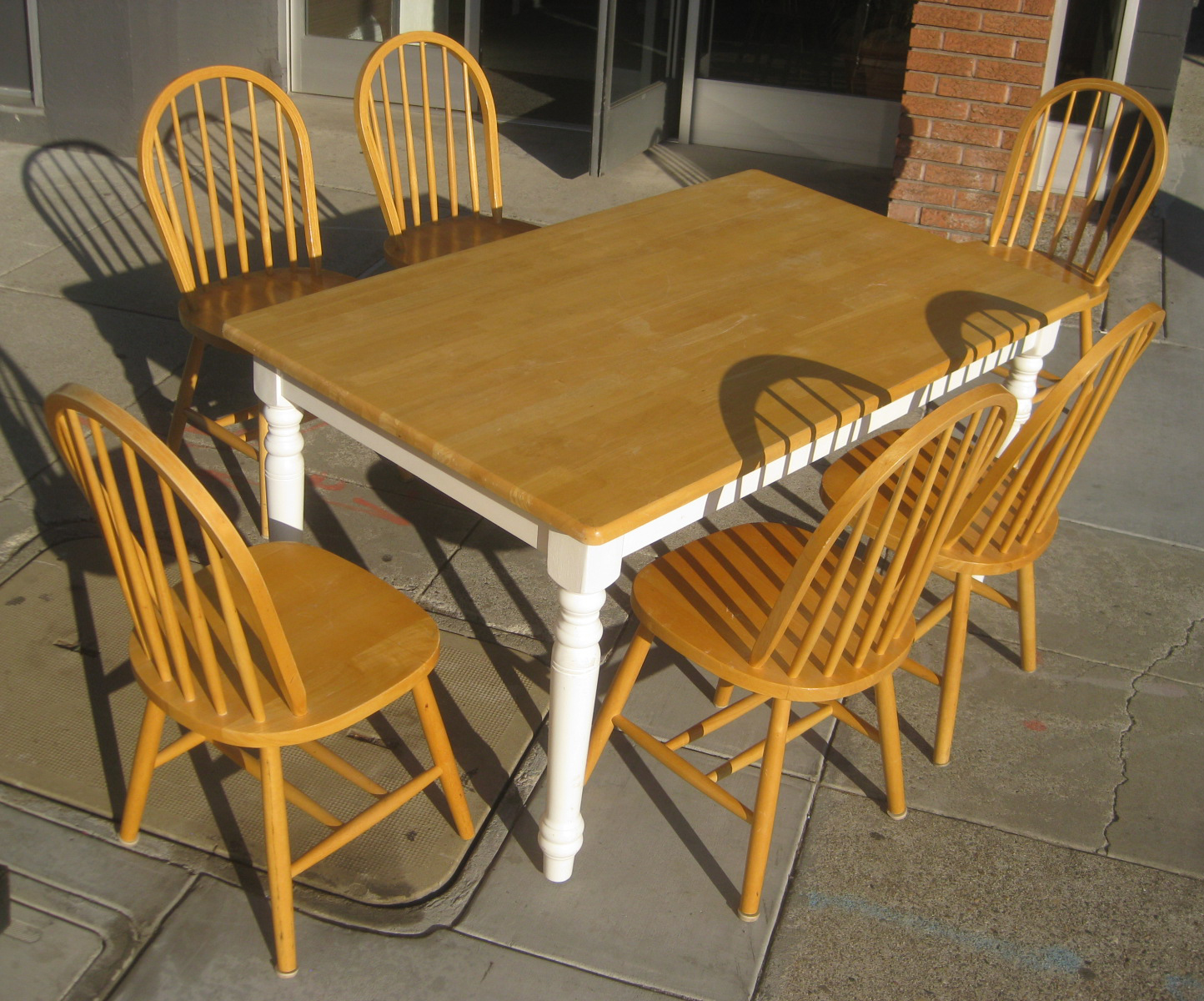 Kitchen Table Seats 10 Uhuru Furniture And Collectibles Sold Kitchen Table And