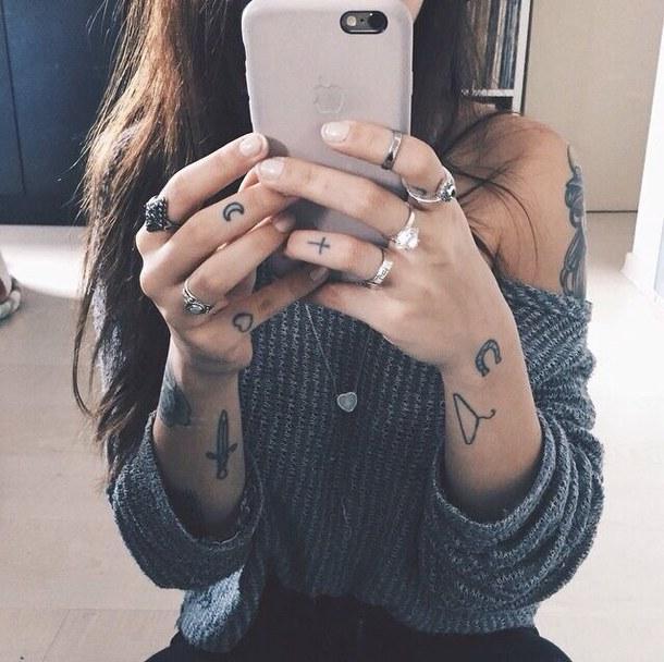 Aureolia Modowe Inspiracje Tatuaże Minimalistyczne
