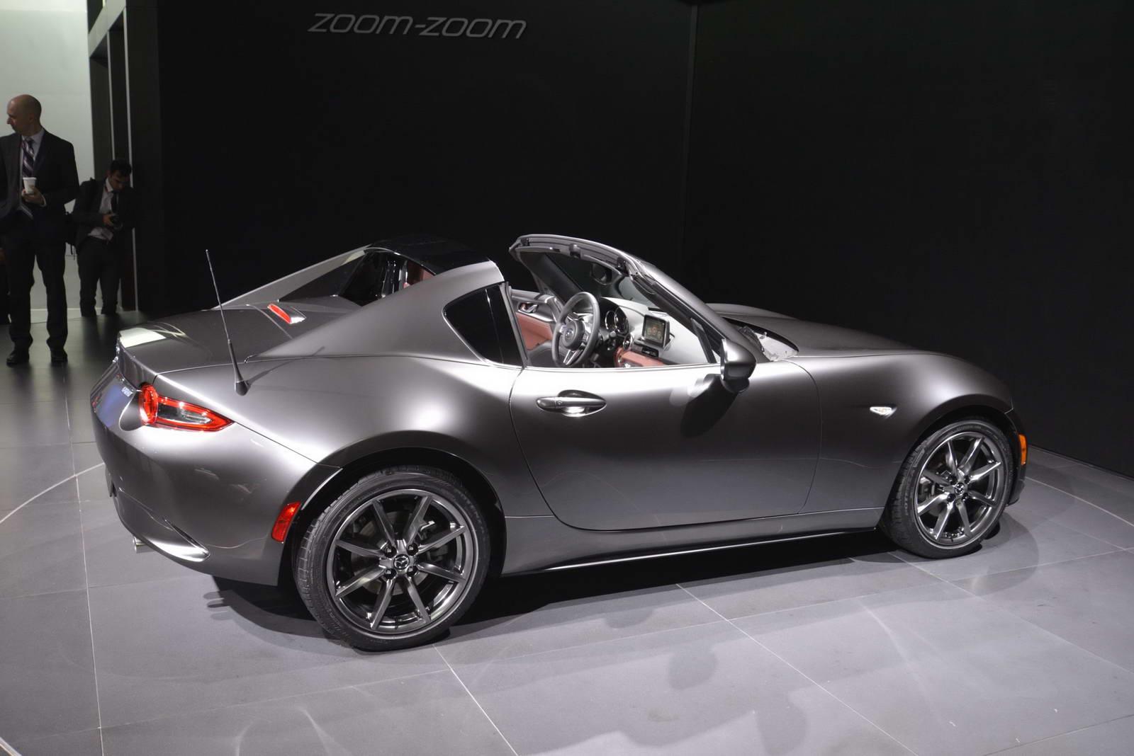 Mazda MX-5 2017 khá yếu, nhưng chắc chắn không ai dám chê