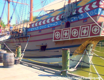 Susan Constant at the Jamestown Settlement in Virginia