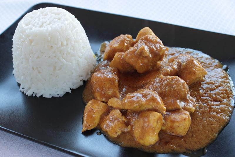 Curry de pollo - Pollo al curry