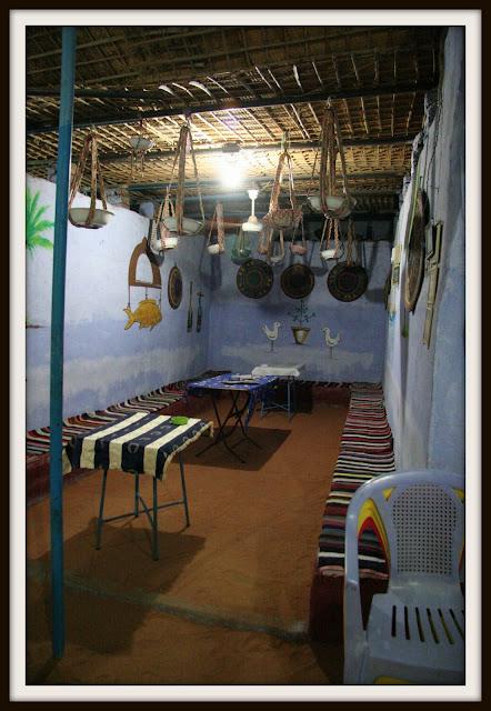 Nubia Köyü'nde bir ev