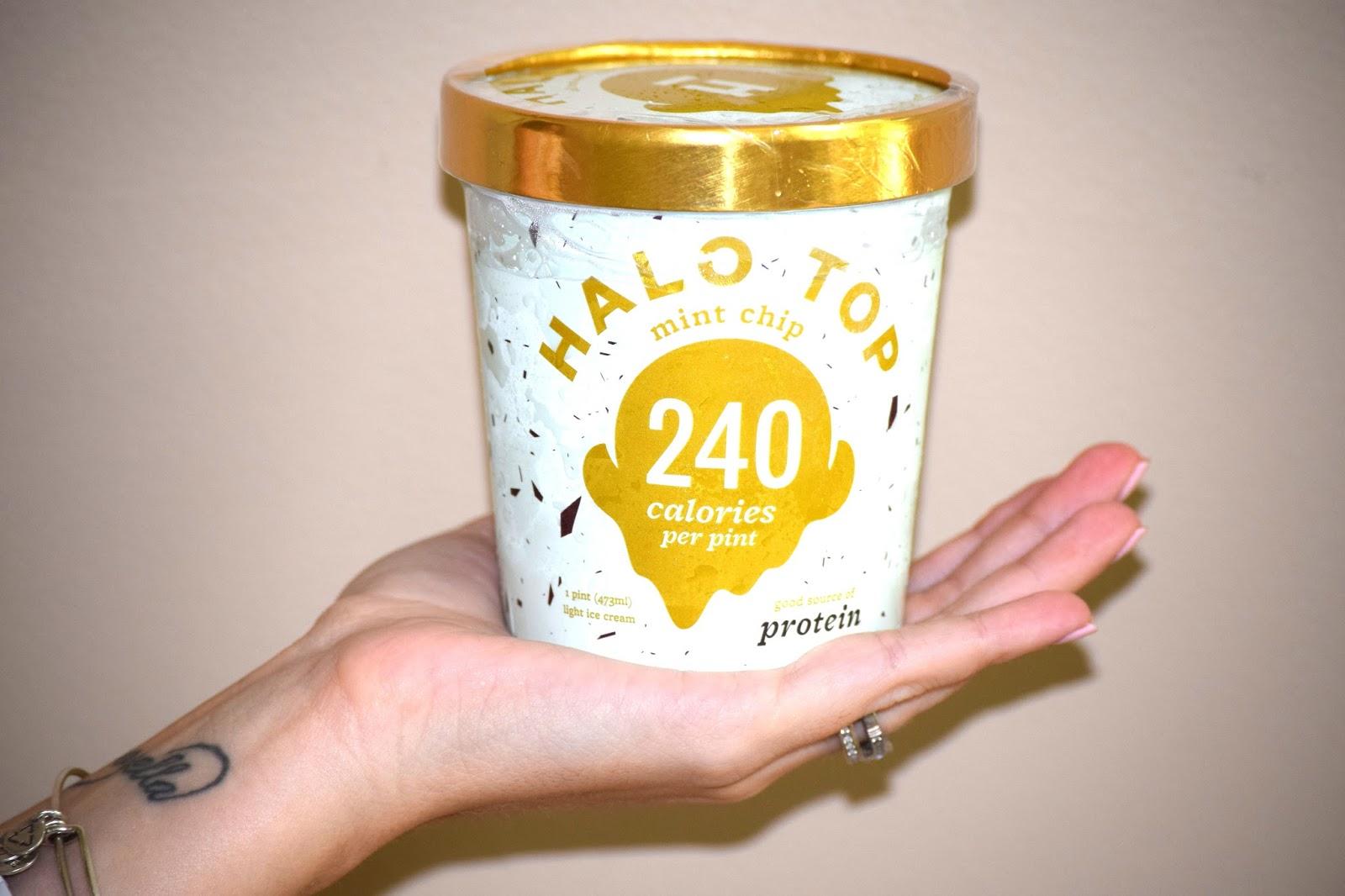 Halo Top Ice Cream Birthday Cake Ingredients