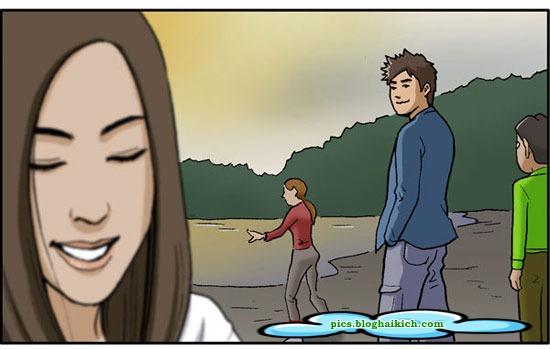 Truyện tranh vui ngắn: Chỉ tại hứa hẹn