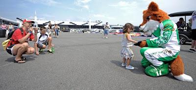Meet Tricky - Pocono Raceway's Mascot (#nascar)