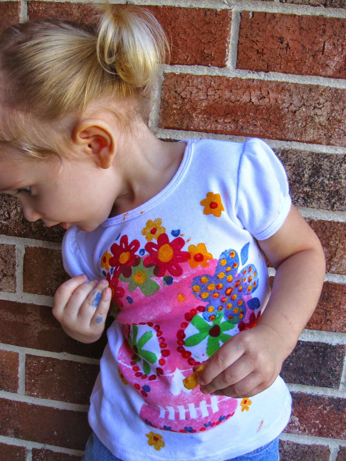 DIY Sugar Skull Shirt – Indie Crafts