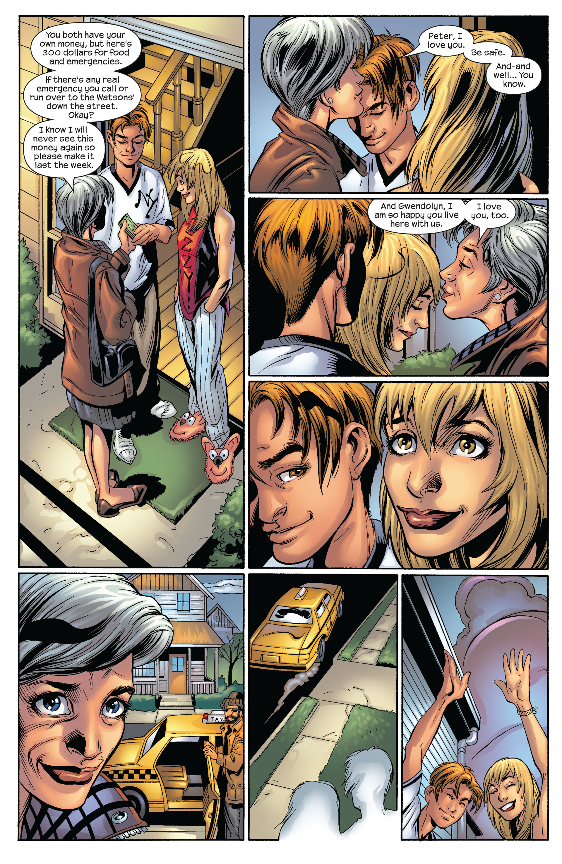 Read online Ultimate Spider-Man (2000) comic -  Issue #54 - 4