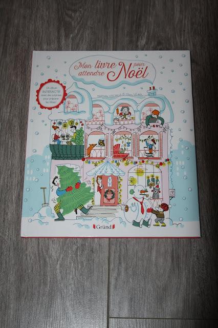 Mon livre pour attendre Noël des éditions Gründ
