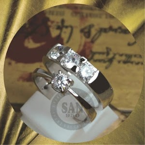 cincin kawin perak p5863
