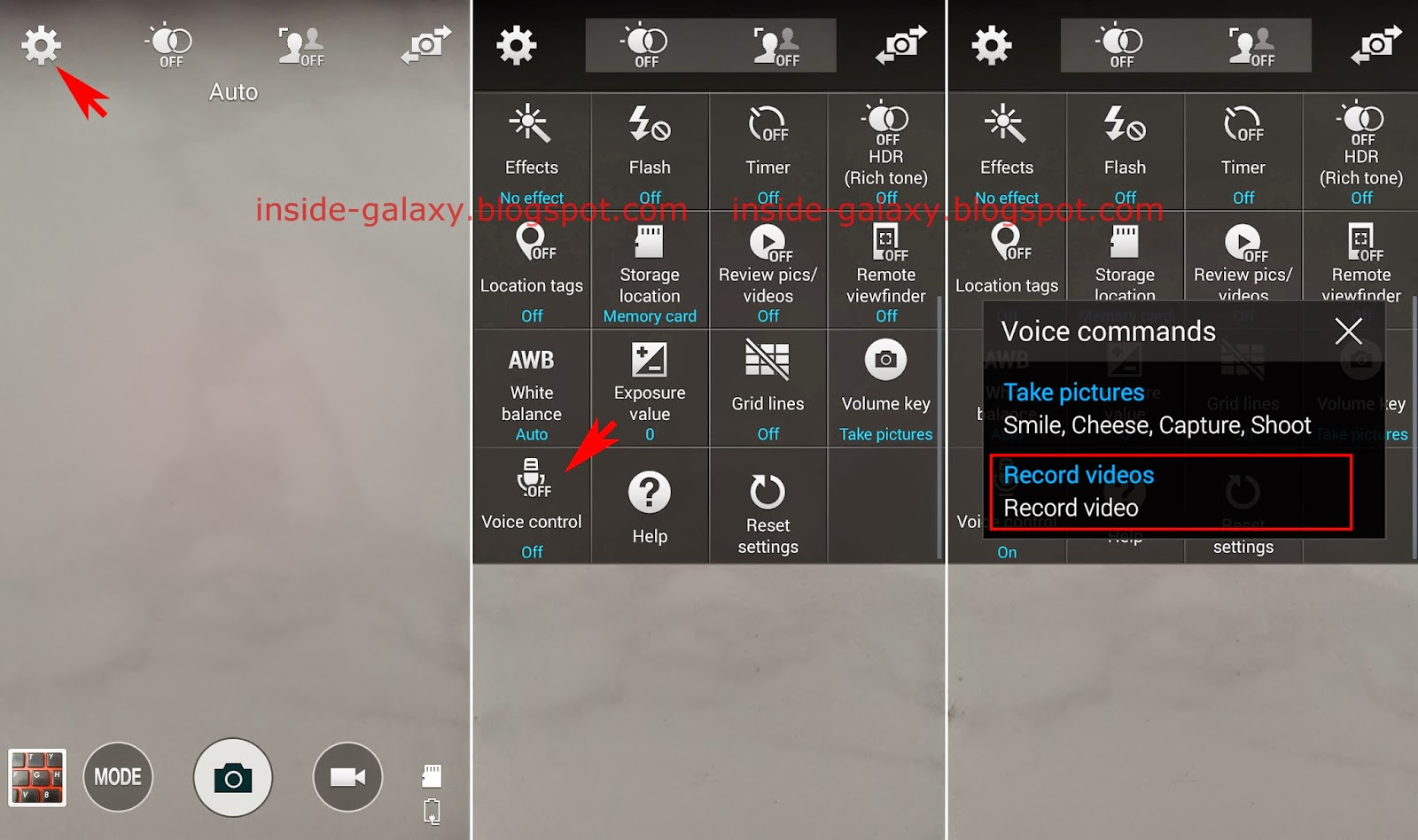 Samsung Galaxy S5: How to Record Video Using Voice Command