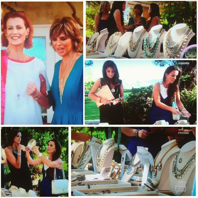Lisa Rinna's Jewelry Party with Stella & Dot