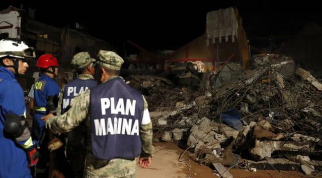 Asciende a 90 el número de muertos por el terremoto en México