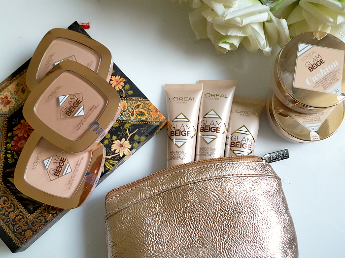 Review: L´Oréal Paris - Glam Beige Healthy Glow Cushion, Foundation & Powder