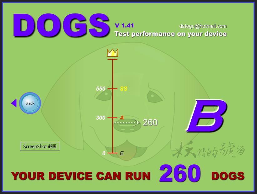 3 - DOGS - 你的電腦上能裝多少隻狗狗呢?讓狗狗們幫你測試一下電腦的效能吧!