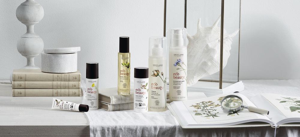 АНОНС: Органические экстракты из сердца природы в новой серии по уходу за кожей Ecobeauty от Oriflame