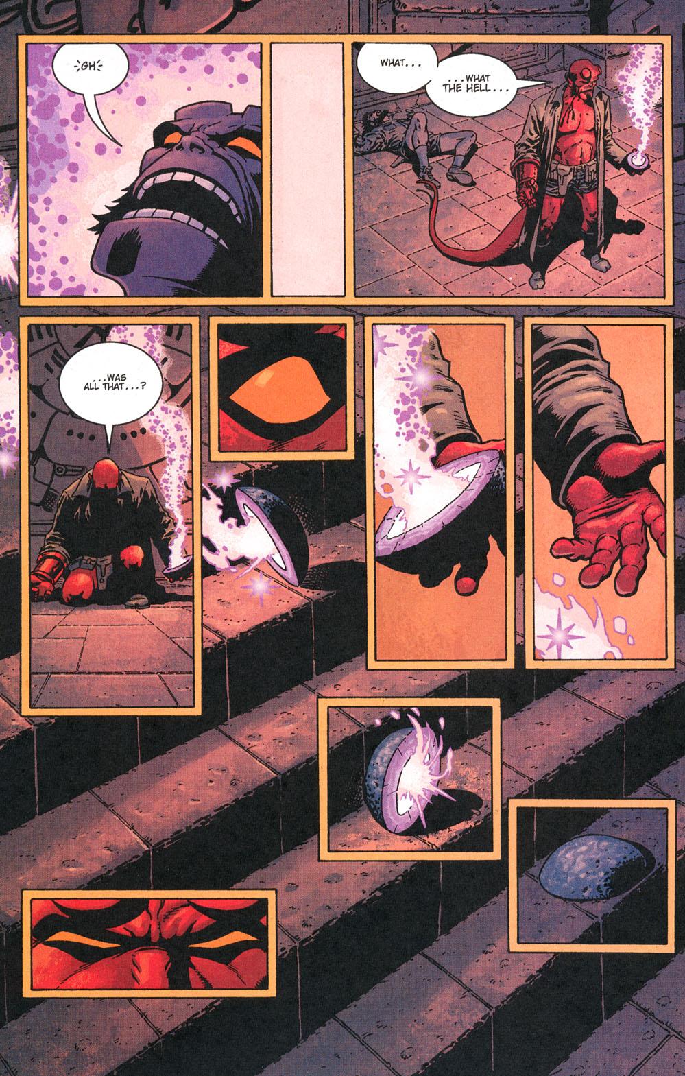 Read online Hellboy: Weird Tales comic -  Issue #5 - 24