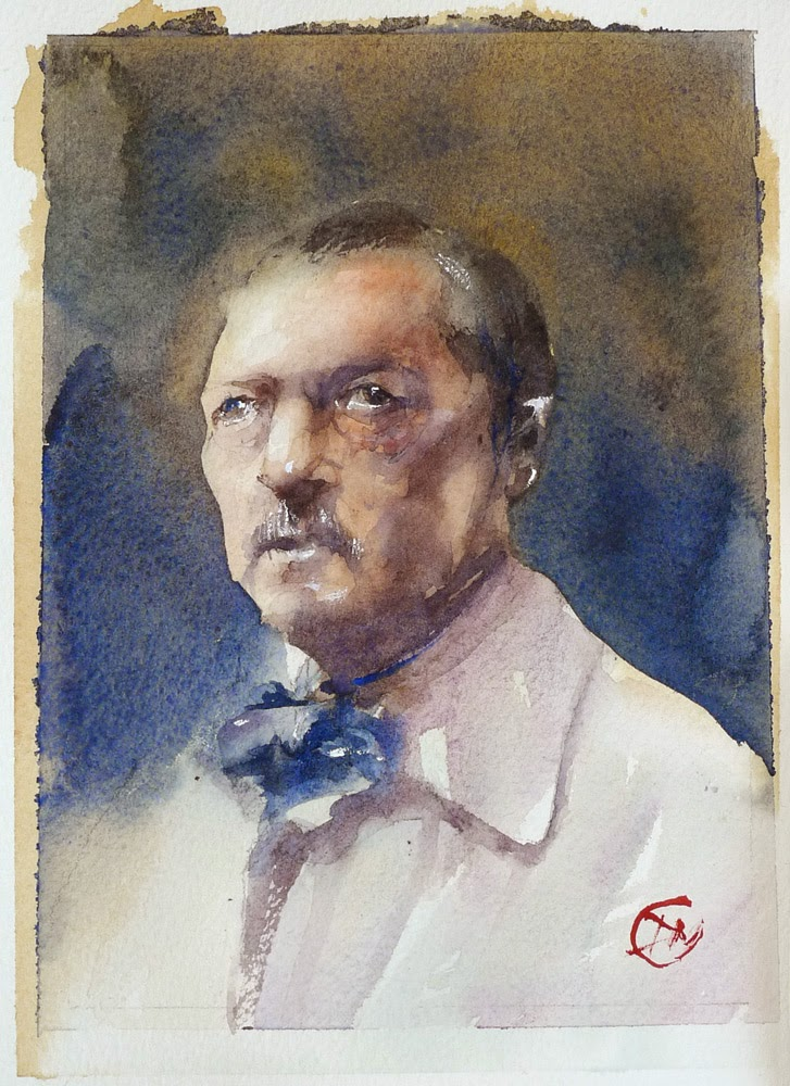 Anders Zorn by David Meldrum
