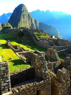 Construções Incas de Machu Picchu