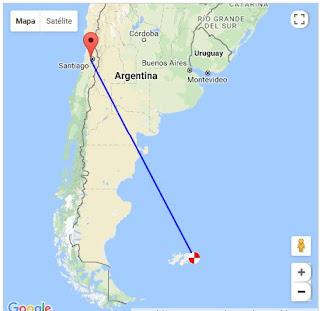 vp8lp Falkland Islands ce3bkn radioaficionado chileno