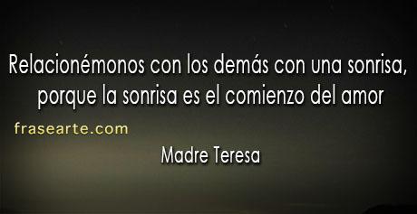 Frases de amor - Madre Teresa