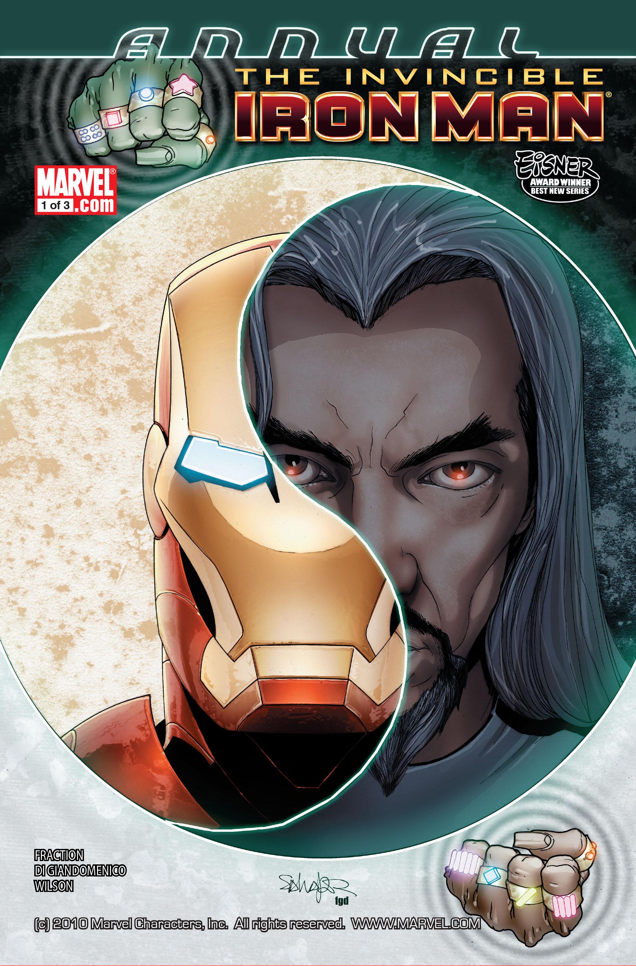 Invincible Iron Man (2008) Annual_1 Page 1