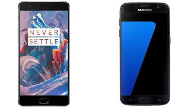 OnePlus 3 (RAM 6GB) Vs Galaxy S7 Edge (RAM 4GB), Siapa Yang Lebih Cepat?