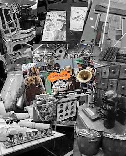 Collage de imágenes representativas del desembalaje de Bilbao, desembalajebilbao