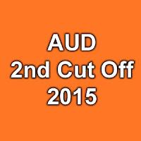 Ambedkar University Delhi 2nd Cut Off