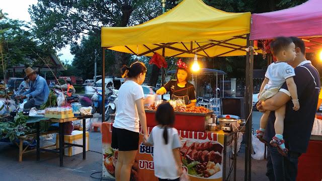 Night Market - Kanchanaburi
