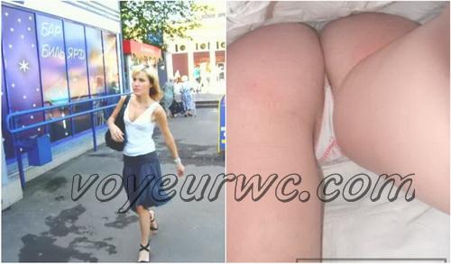 Upskirts 185-238 (Upskirts Voyeur Escalator - Upskirts clips with babes in short dresses)