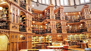Canada Ottawa Parlement bibliothèque