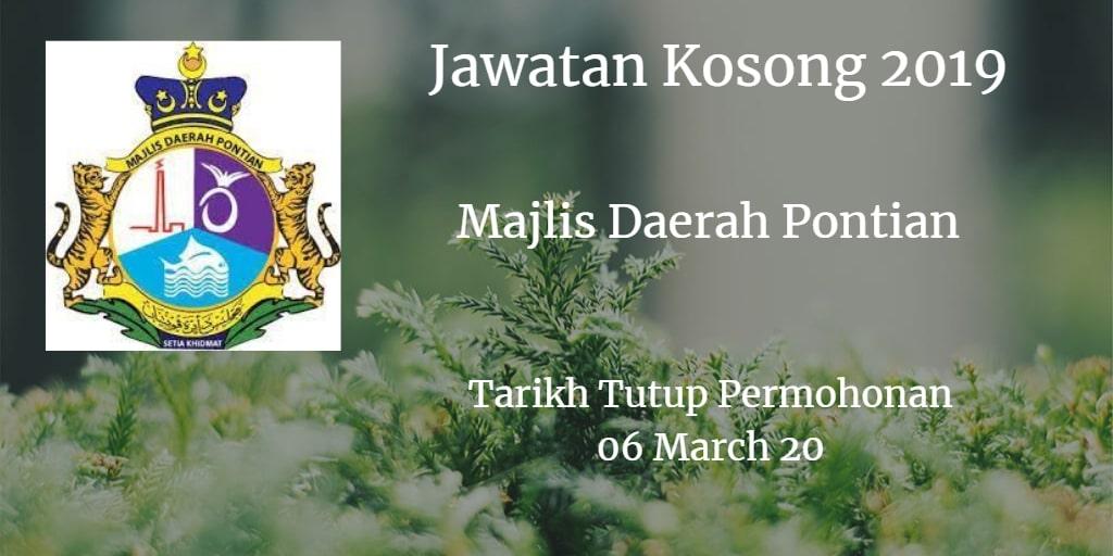 Jawatan Kosong MDP 06 March 2019