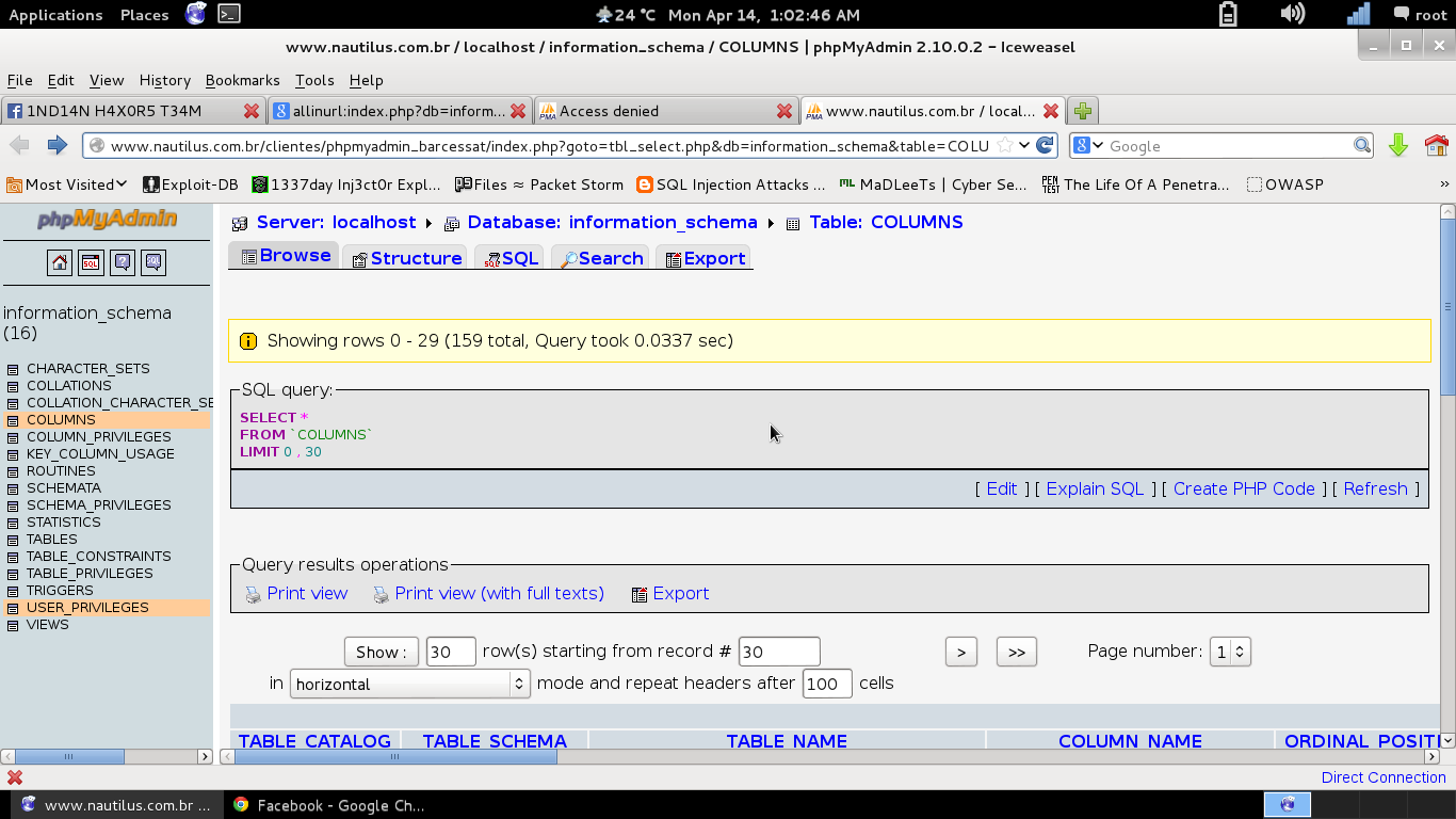 PhpmyAdmin Exploit with Google Dorks ~ Mr DeadManINDIA