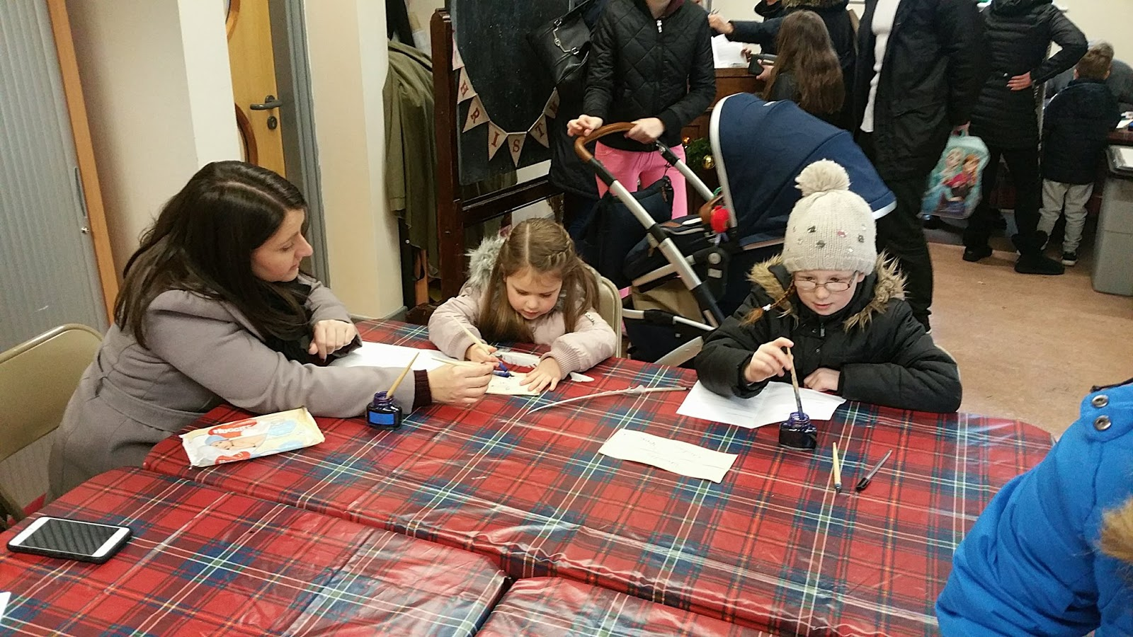 Preston Park Museum & Grounds | Christmas Bazaar and visiting Santa 2016 - writing letters to Santa