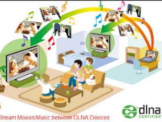 dlna streaming in tv