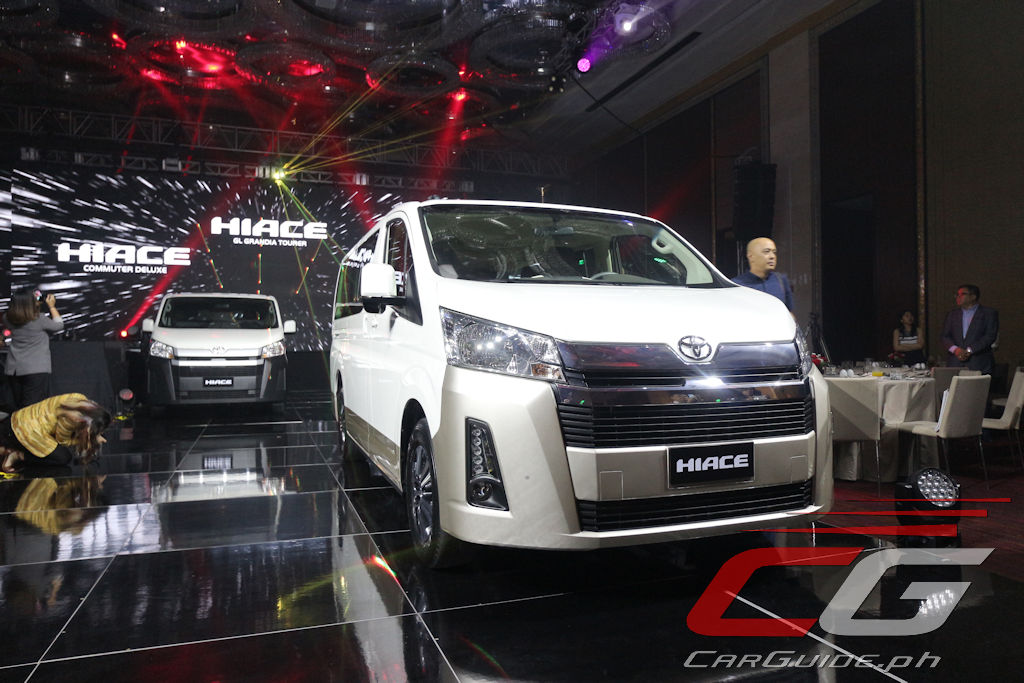 Toyota Philippines Launches All-New 2020 Hiace (w/ 37 ...